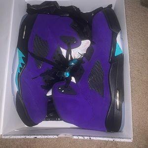 Jordan Alternate Grape 5s